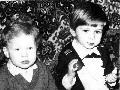 С братом Антоном