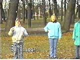 Жонглирую в парке