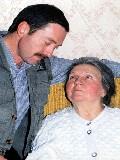 Бабушка...